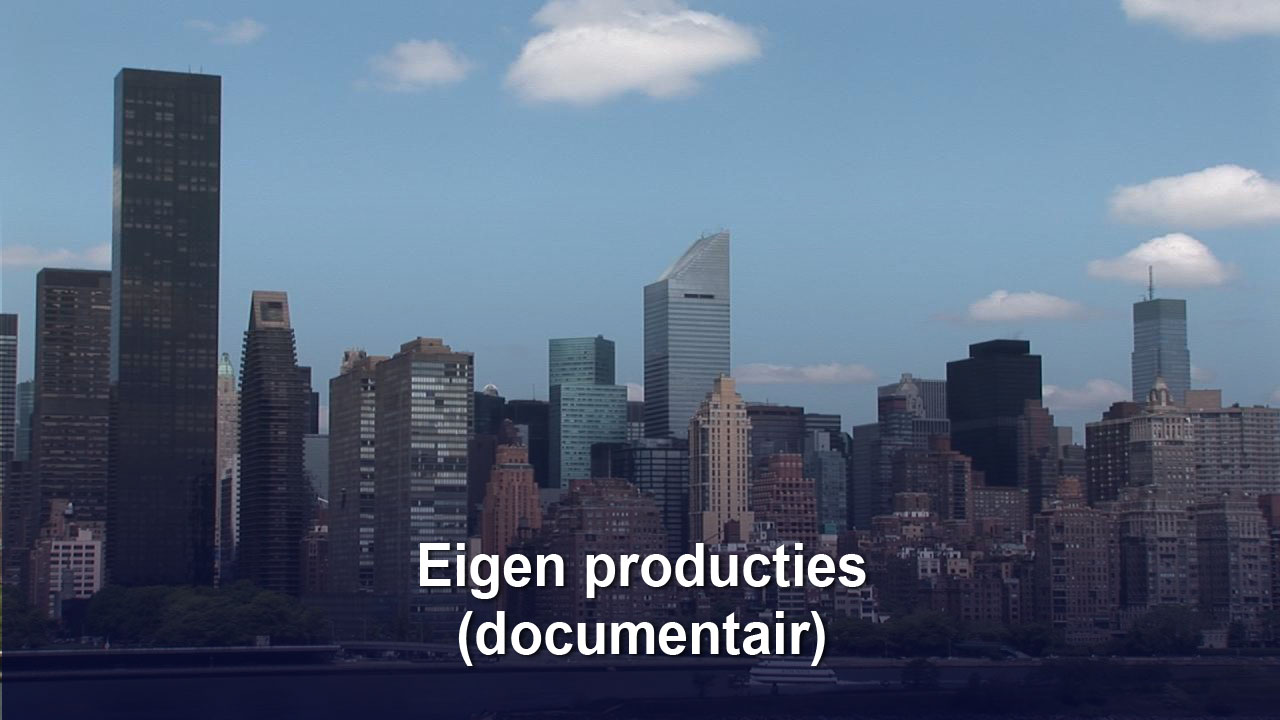 Eigen productie's (documentaires)
