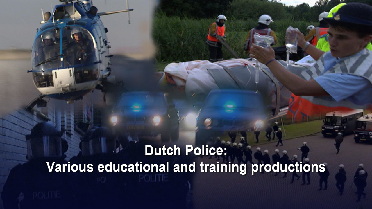 Dutch Police: Various educational and training films